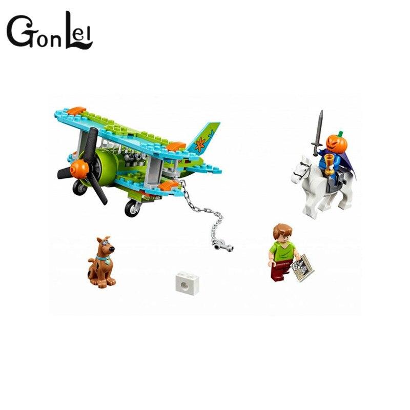127 шт. совместим с Lepining Scooby Doo Dog Mystery Plane Adventures Building Kit игрушки лохматый Тыква рыцарь блок 10429