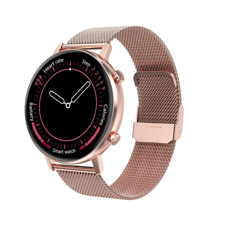 2021 NEW  Smart Watch Men Women Couple Lovers Sport Smartwatch Blood Pressure Blood Oxygen Monitor F