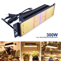 xryl us 300w full spectrum warm light indoor plant vegetable flower growing led phytolamp light for speed growing flowers