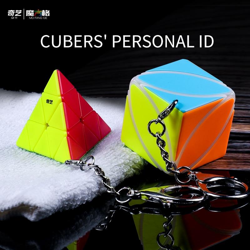 Nouveau Qiyi Mofangge lierre porte-clés cube magique Jinzita porte-clés porte-clés petit cube magique international jouets éducatifs