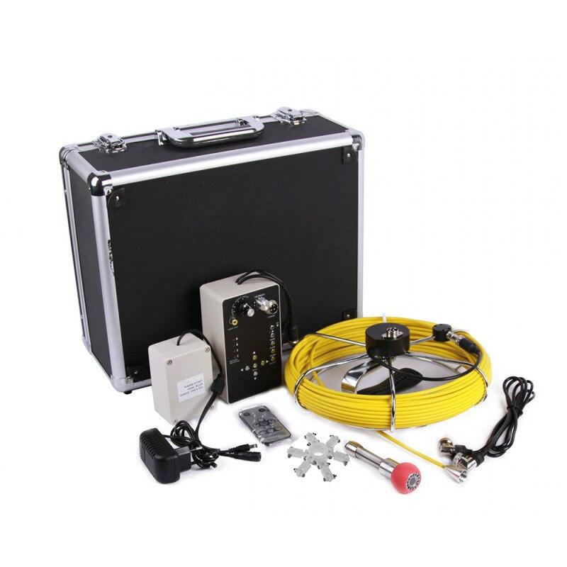7 zoll bildschirm endoskop kamera industrie 20M 30M endoskop 23mm schlange inspektion kamera mit DVR