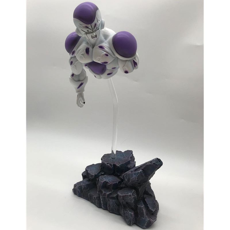 "9 ""busto anime dragon ball frieza universo mal reis gk resina estátua retrato figura de ação collectible modelo brinquedo k9"