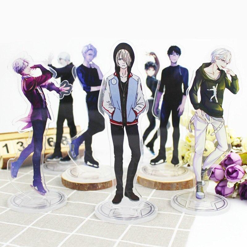 ¡YURI! Sobre hielo Victor Anime figura de acción juguete acrílico decorativo adornos regalo creativo