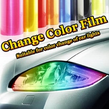 Car Sticker Vinyl Auto Fog Lights Headlight Taillight Changing Color Film Decoration Personalise Dec