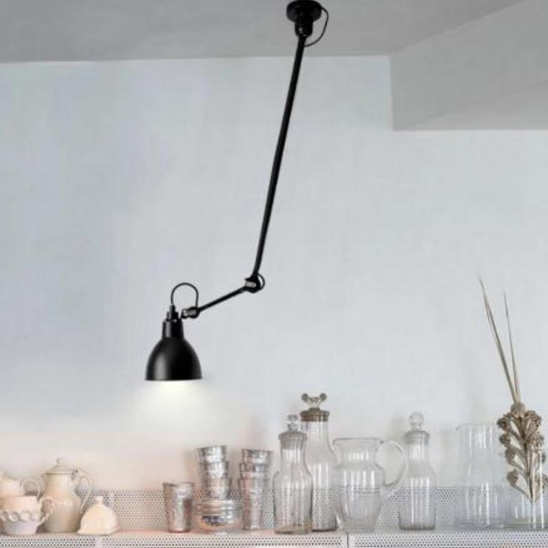 Moderno largo brazo Extensible luz de techo lampara corto nordico giratoria LED...
