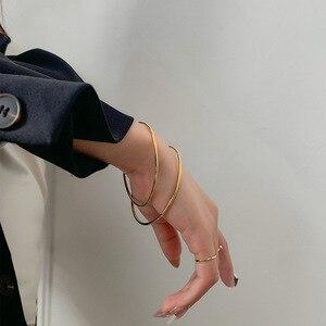 hm-46 Minimalist style bracelet female hand jewelry net red ins trend personality cold wind niche design light luxury bracelet