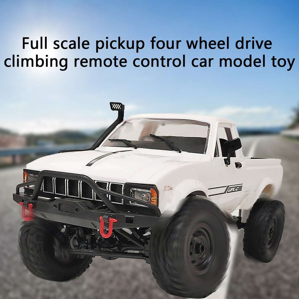 WPL C24-1 Remote Control Car Full Scale Four-wheel Drive Off-road Truck Children Electric Remote Control Car Model enlarge