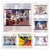 WTQ Tuer de La Tuer Matoi Ryuuko Kiryuuin Satsuki Mako Anime Manga Toile Peinture Murale Decor Mur Art Photo Chambre Decor Maison Deco