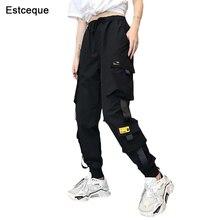 Nouveau grandes poches Cargo pantalon femmes taille haute pantalon de Streetwear ample Baggy pantalon tactique Hip hop haute qualité Joggers pantalon