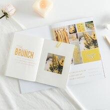 JIANWU-pegatinas creativas simples para cuaderno, serie Rosy Posy, para álbum de recortes, diario, suministros escolares kawaii, 3 uds.