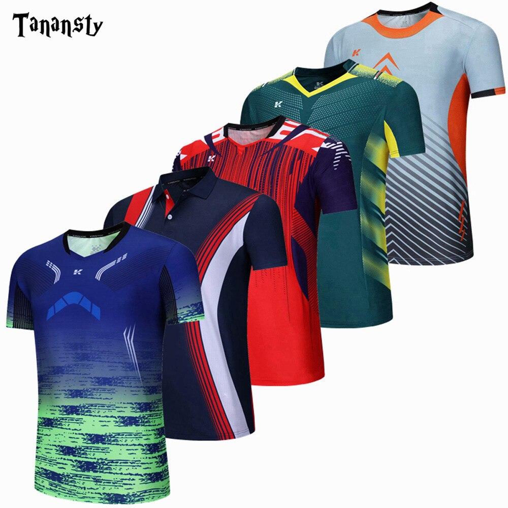 Camisa de bádminton para deportes nuevos, camiseta de voleibol y tenis de mesa para hombre y mujer, camiseta de entrenamiento para correr, transpirable y de secado rápido