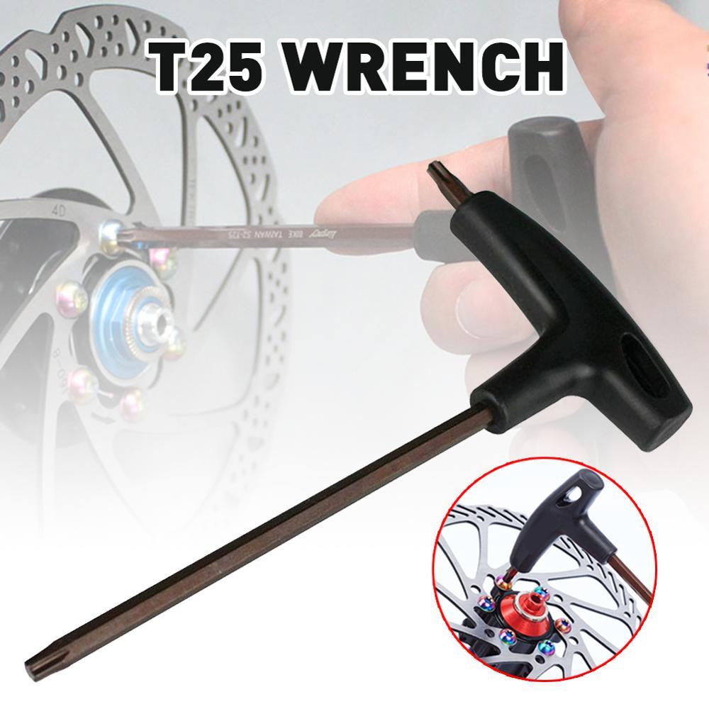 Bike T25 Torx Wrench T-Griff Heavy-Duty Tragbare Fahrrad Reparatur Wrench