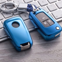 Protection des clés Chevrolet pour Buick   En TPU, Protection pour Cruze Aveo Trax Opel Astra Corsa Meriva Zafira Antara J Mokka