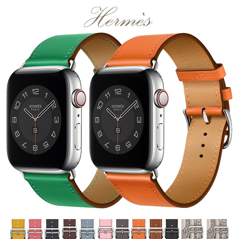 natural genuine leather loop band for apple watch 42mm 38mm women men sport strap for iwatch series 4 3 2 1 40mm 44mm wrist band Genuine leather loop for Apple Watch Band 40mm 44mm Sports Strap Single Tour band for Apple watch 42mm 38mm iWatch 4 5 6 se 3 2