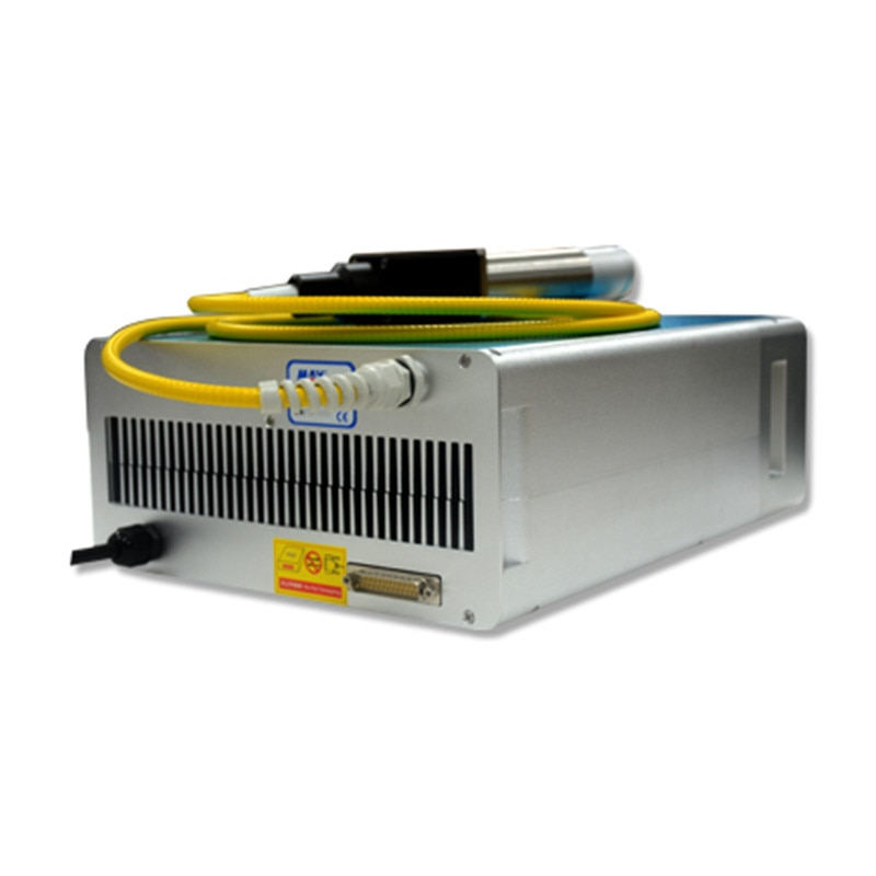 MAX Laser Source With Red Beam 30W MFP-30W  Q-Switched Pulsed Fiber Laser Source for Laser Marking Machine enlarge