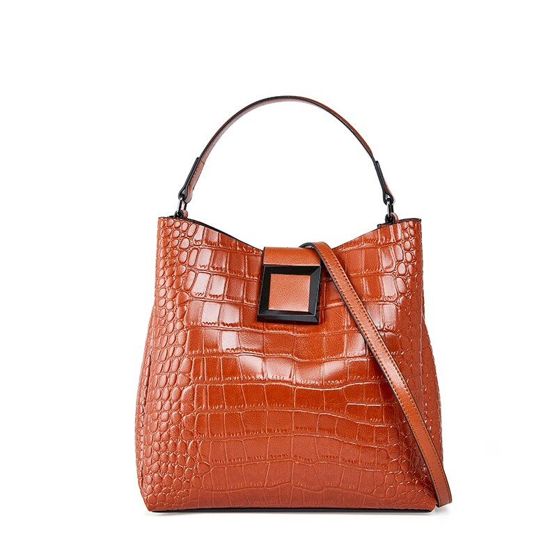 Women's Split Leather Messenger Bags Ladies Vintage Large Capacity Handbags Multi Function Totes Bag For Female New Hot Sale