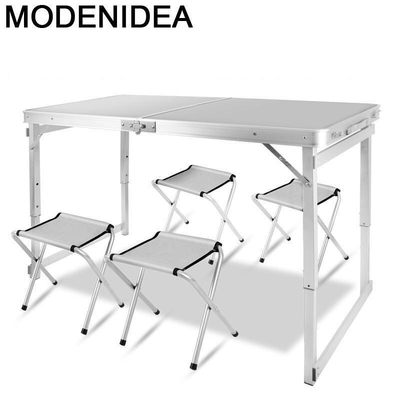 طاولة تخييم صغيرة قابلة للطي ، أثاث مطبخ قابل للطي ، طاولة عشاء ميجا ماكان