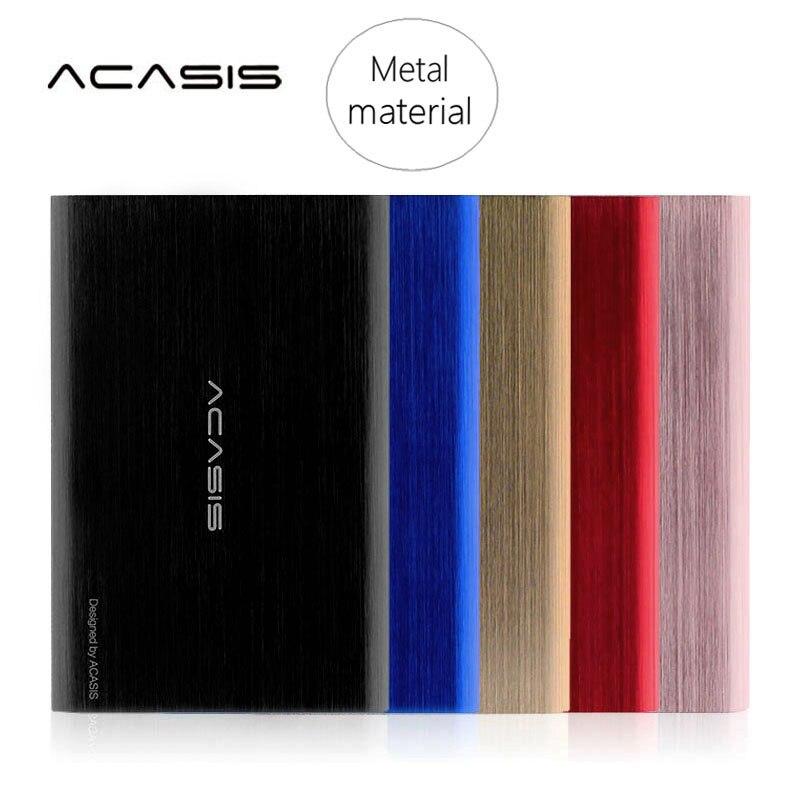 On Sale ACASIS 80G-1000G External Hard Drive USB3.0 Hard Disk Storage Devices High Speed 2.5'' HDD Desktop Laptop Hd Externo