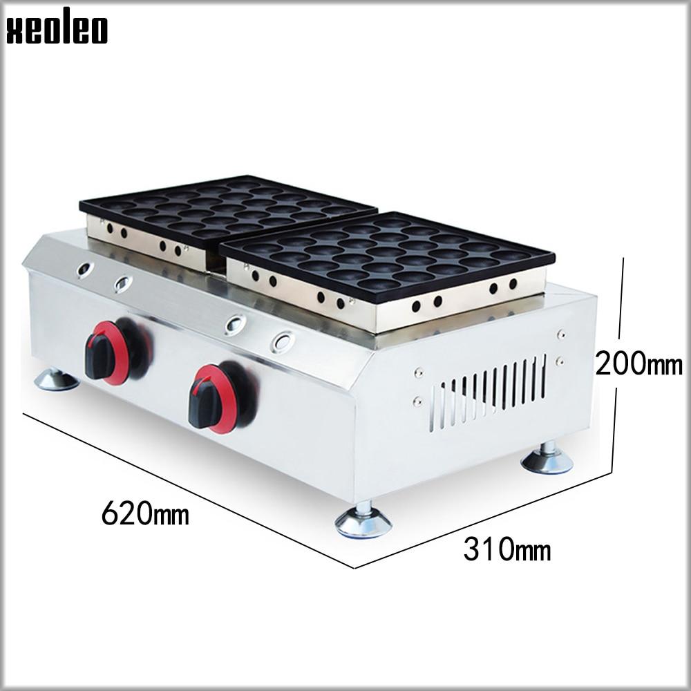XEOLEO Waffle makinesi muffin makinesi çerez pişirme makinesi LPG gaz Causeway yakma makinesi Waffle pişirme makinesi yapışmaz tava