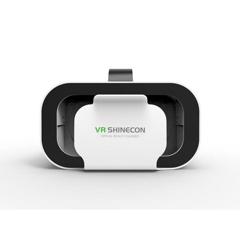 VR caja VRGlasses 3DGlasses gafas de realidad Virtual VR 3D casco de realidad Virtual auricular para teléfono VR SHINECON caja de 5Mini