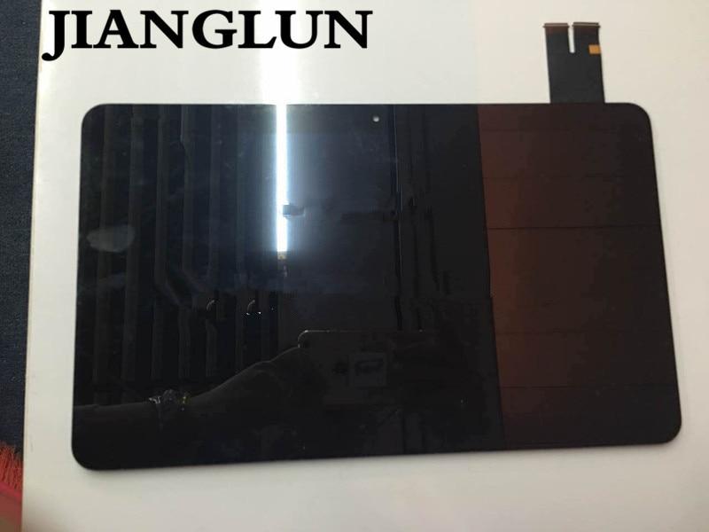 Jianglun nova montagem da tela de toque lcd para asus t300chi 2560x1440