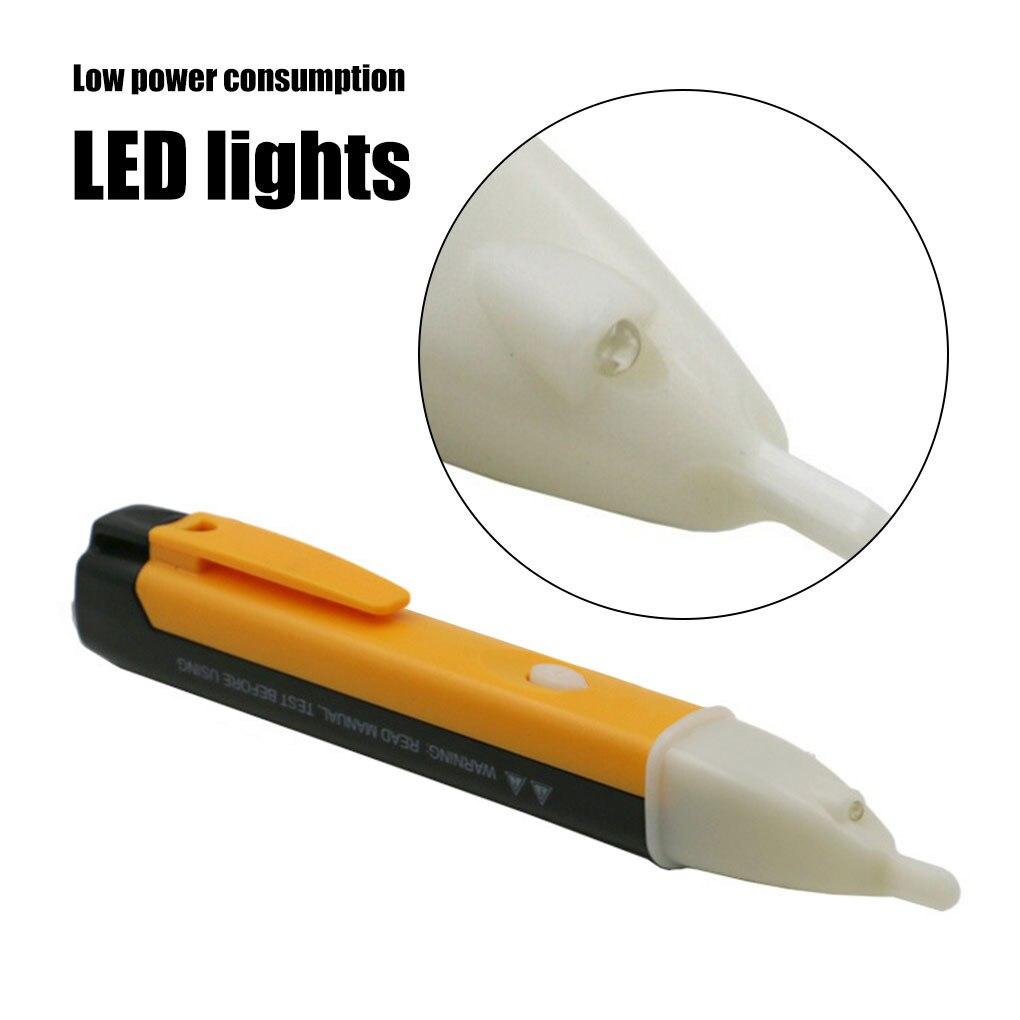 Electric indicator 90-1000V Socket Wall AC Power Outlet Voltage Detector Sensor Tester Pen LED light