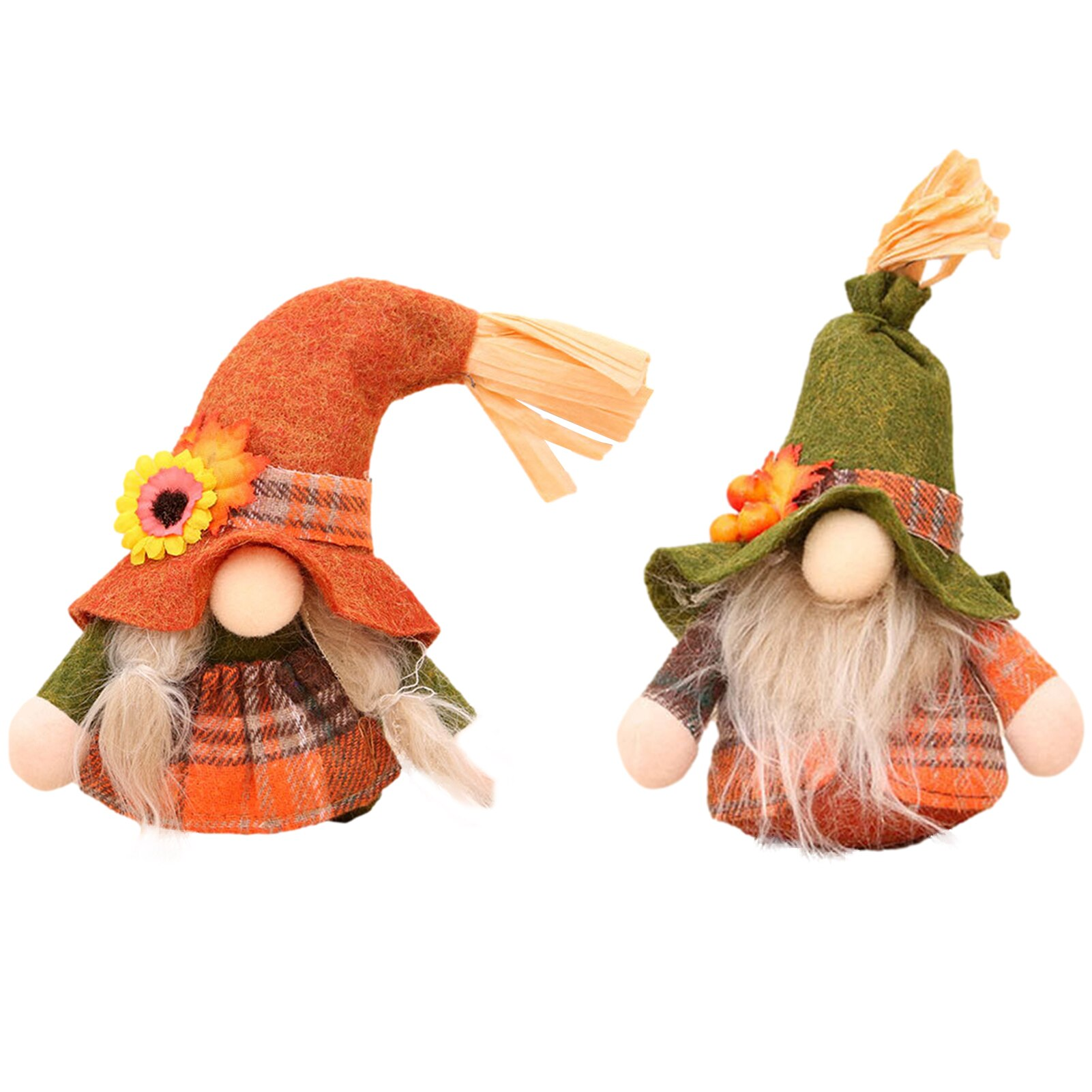 Christmas Faceless Gnome Plush Doll Santa Rudolph Festival Dwarf For Holiday Decoration Xmas Home Decor