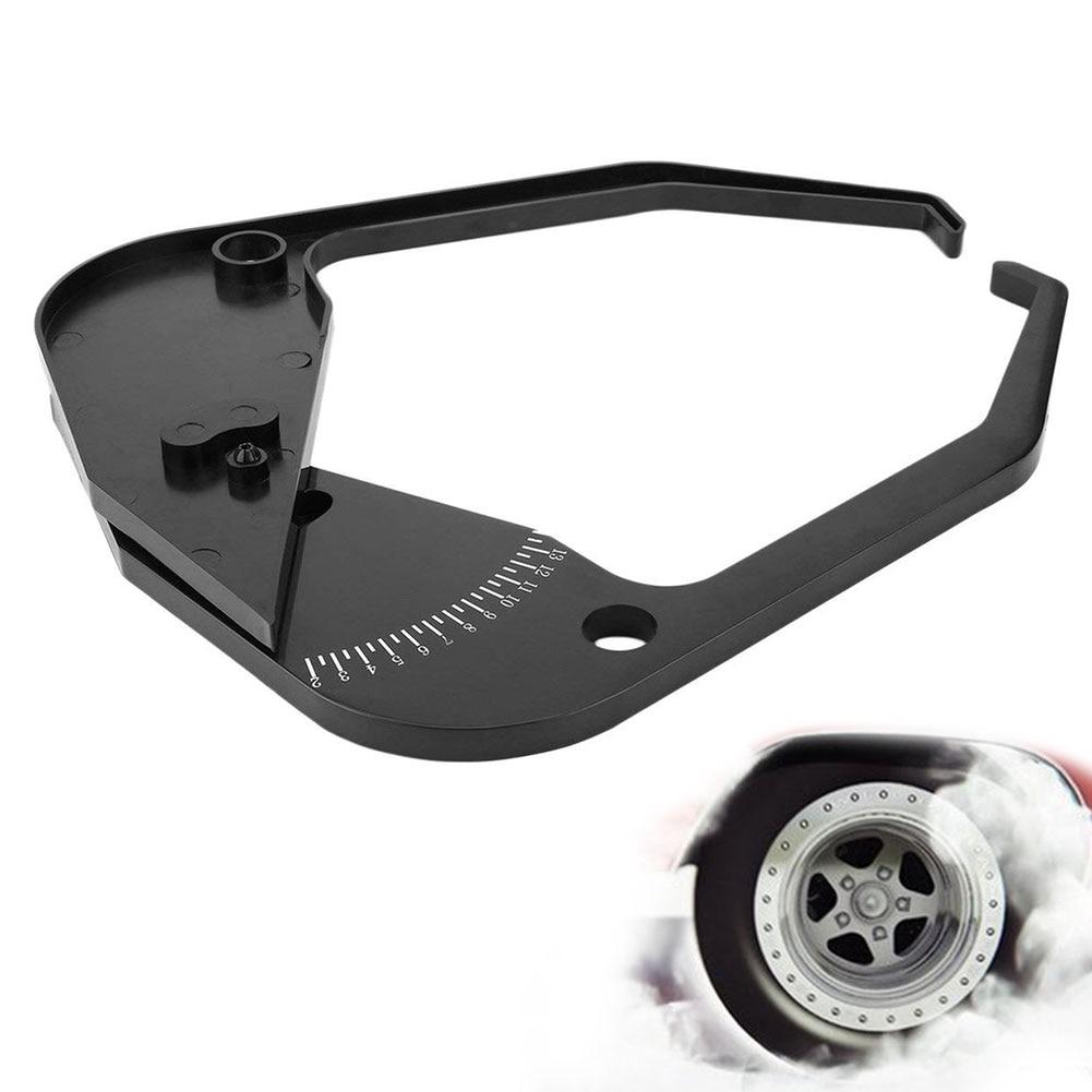 Ancho de medición parte equilibrador de neumáticos pinza negro legible coche medidor de coche Universal de herramienta precisa fácil de usar borde portátil