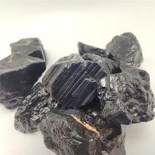 Minerai de réparation de Tourmaline noire naturelle de qualité pour la décoration de la maison cadeau de bricolage