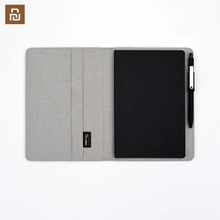 Cahier Kaco Noble papier Pu cuir carte fente portefeuille livre pour bureau voyage cahier bloc-notes Smart Home cadeaux