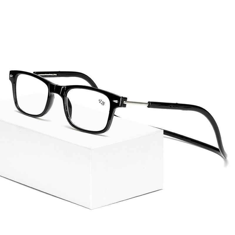 Presbiopia óculos de proteção presbiopia homem pedra espelho transparente acetato rotativo olho atacado forte magnético