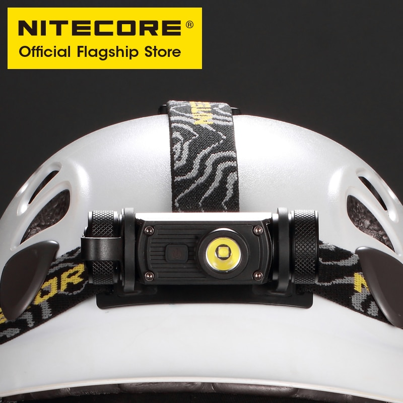 NITECORE HC60 V2 USB-C Rechargeable Headlamp 1200 Lumens 180° Adjustable Angle Headlight Flashlight with 3400mAh 18650 Battery enlarge