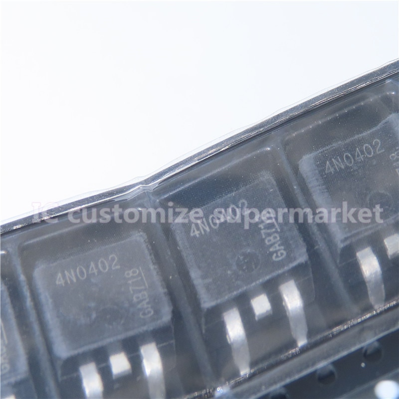 10PCS/LOT 4N0402T   TO-263 SMD Triode