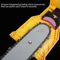 Teeth Chain Saw Sharpener Portable Durable Easy Power Sharp Rod Fast Grinding Chain Saw Chain Sharpener Woodworking Tools