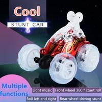 Машинка-багги для трюков с дистанционным управлением и подсветкой