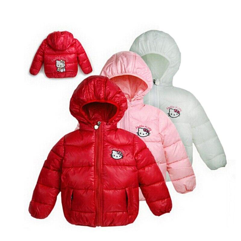 New2020 girls winter  Jacket Children Casual Hooded Vest Kids Windbreaker Coats Baby Warm Clothes 4 Color