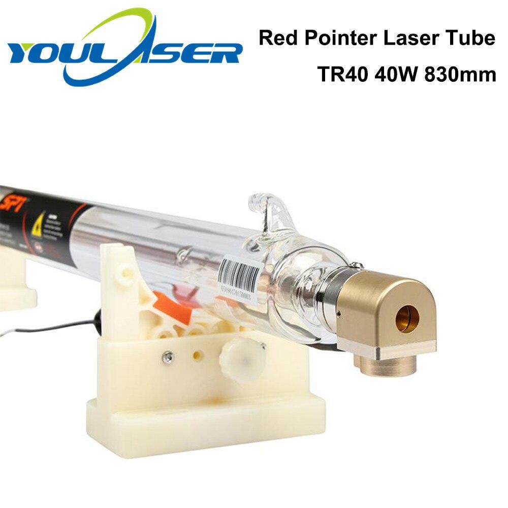 Co2 레이저 튜브 40W 길이 830mm Dia.80mm CO2 레이저 조각 및 절단 기계