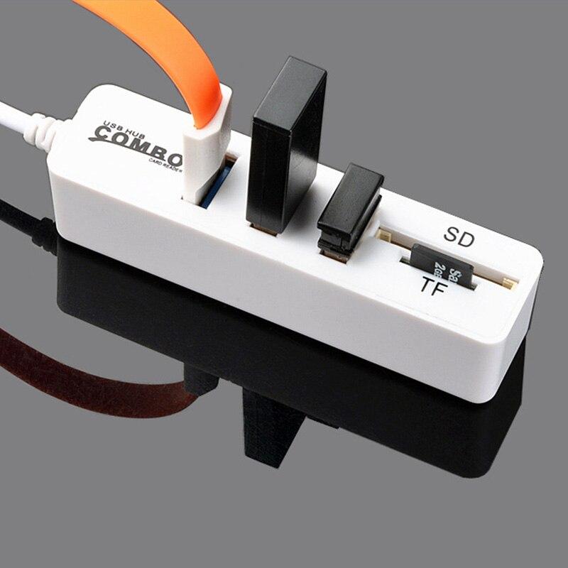Lector de tarjetas SD USB 3,0 OTG concentrador Micro USB Lector de tarjetas TF Lector SD Lector de tarjeta de memoria Micro SD TF USB tipo-C OTG Lector de tarjetas