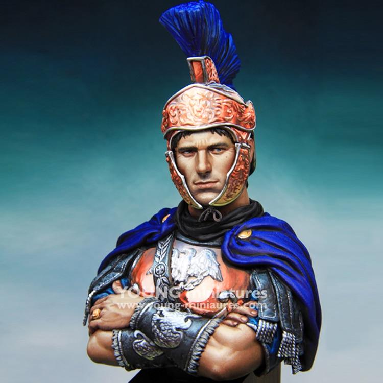 Busto de GK, figura de modelo de resina de 1/10 ROMAN tribuna, figura histórica, sin montar y kit sin pintar