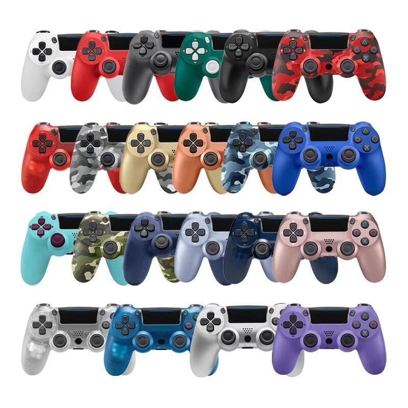 سماعة لاسلكية تعمل بالبلوتوث-متوافق مع غمبد ل PS4 وحدة التحكم ل PS4 تحكم صالح ل المزدوج صدمة 4 عصا التحكم