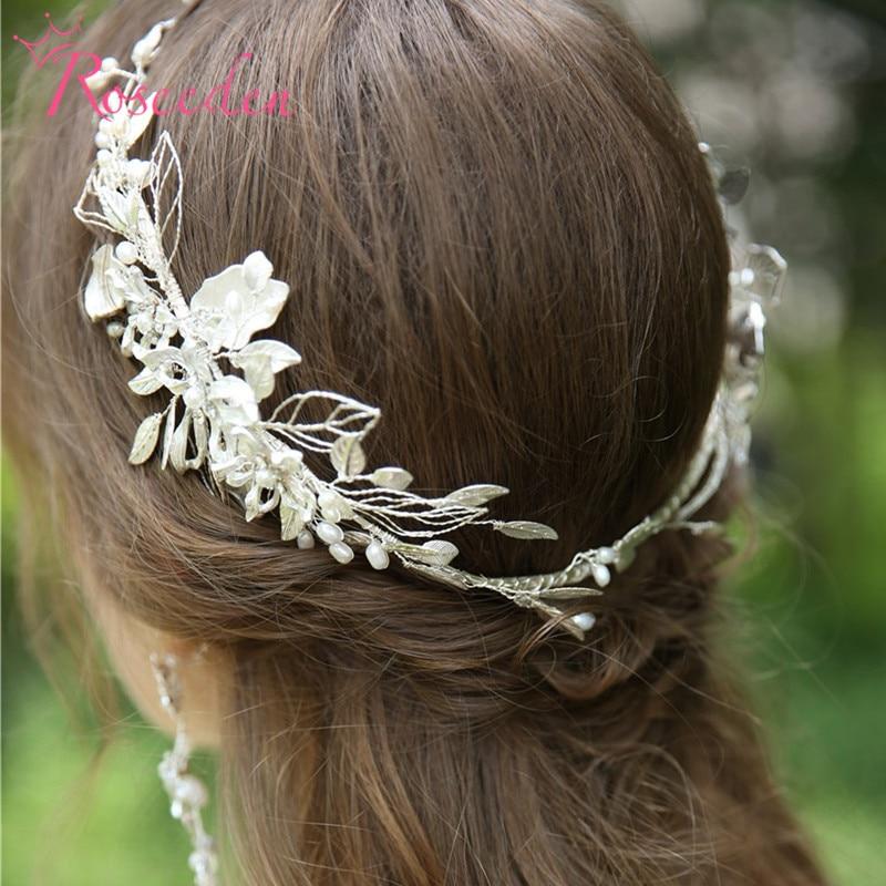 Vintage strass cristal mariage bandeau accessoires de cheveux de mariée princesse coiffe de tête bijoux de cheveux de mariage RE3942