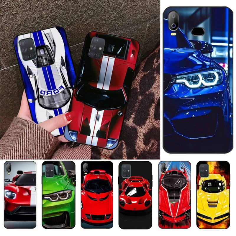 CUTEWANAN, carcasa de teléfono suave con foto personalizada para automóvil de lujo para Samsung Galaxy A01 A11 A31 A81 A10 A20 A30 A40 A50 A70 A80 A71 A91 A51