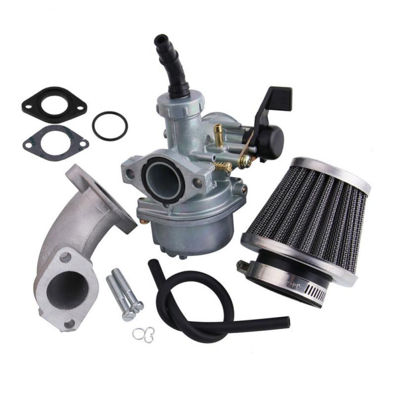 Nueva de 22mm de carburador de la motocicleta para Pit Dirt Trail Bike ir Kart ATV Quad 110cc 125cc de filtro de aire para tubo Accesorios