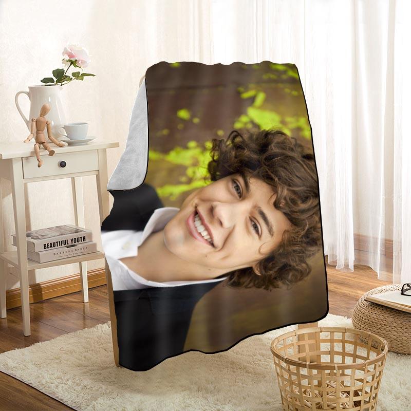 جديد وصول هاري أنماط البطانيات الطباعة بطانية ناعمة رمي على المنزل/أريكة/الفراش المحمولة الكبار السفر غطاء بطانية