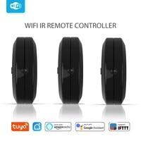 Tuya     telecommande IR Portable  wi-fi  IFTTT  pour maison intelligente  avec fonction dapprentissage  universelle  fonctionne avec Google Home
