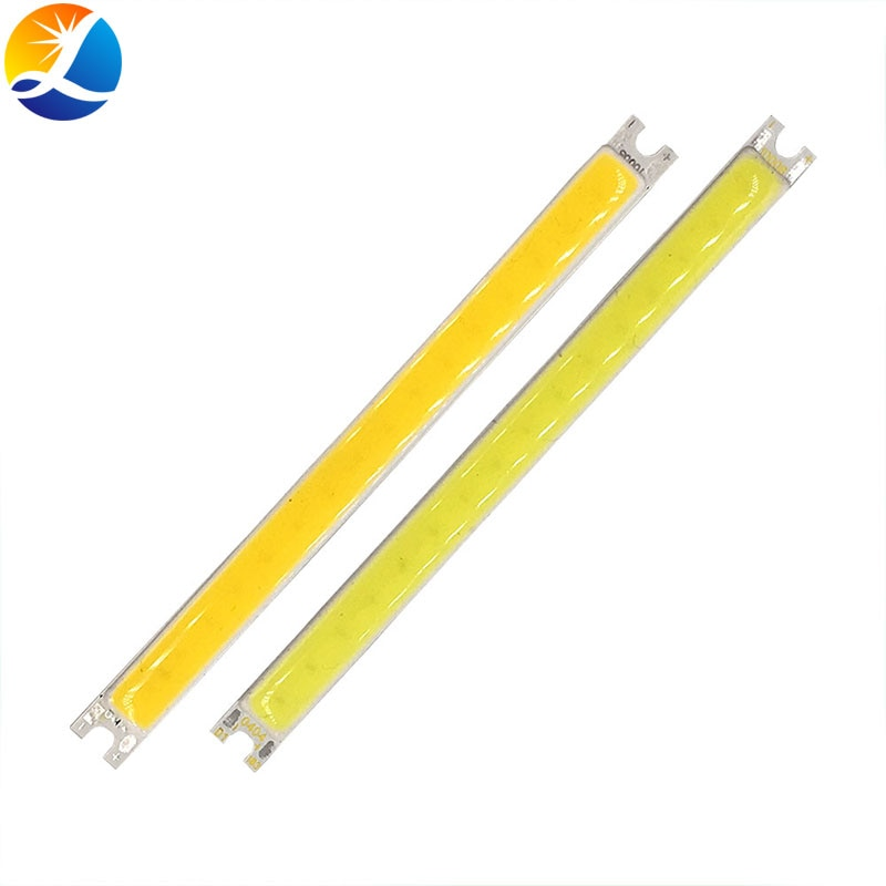 Tira de luces LED COB de 100x8MM, barra de luces de 10cm, 5W, 12V CC, diodo emisor de luz COB, Chip de iluminación blanco frío cálido, lámparas de bombilla DC12V