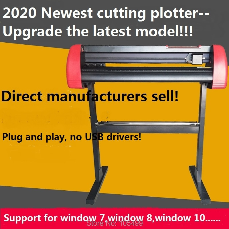 """2020 새로운 모델 liw 28 """"비닐 절단 플로터 DIY 헤비 듀티 360/720/870/1100/1350mm 절단 PlotterMachine 무료 배송"""
