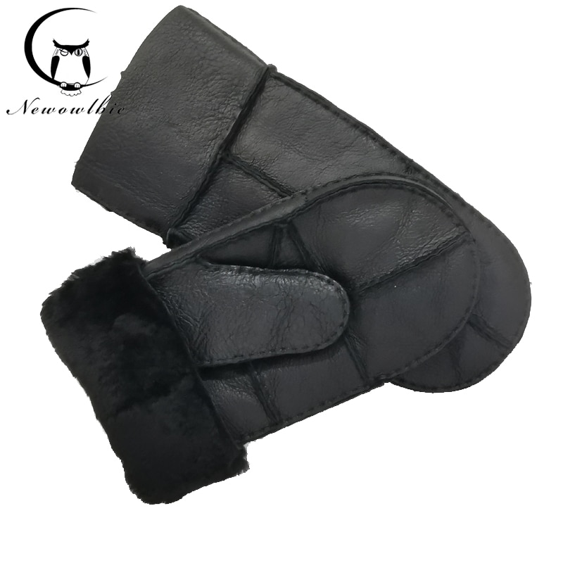 low temperature resistant gloves liquid nitrogen lng natural gas ice storage antifreeze thick warm cold gloves for adult NEW 2021 Handmade Sewing Natural Sheepskin Gloves Working Gloves Winter Sheepskin Gloves Men Warm Wool Thick Gloves