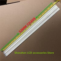 2Pieces/lot 72 LEDs 520MM SLED 2011SGS46 5630 72 H1 REV0 LJ64-03035A LED Strip 100%NEW