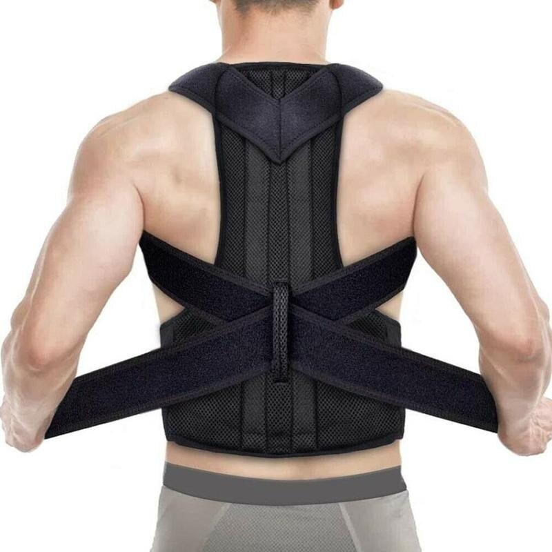 Adjustable Back Spine Posture Corrector Adult Humpback Correction Shoulder Pain Relief Brace Support